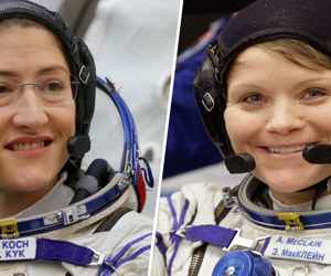 Women Take Over Space!
