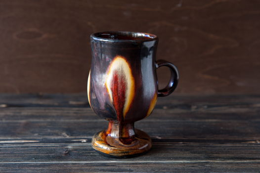 Керамический бокал для глинтвейна