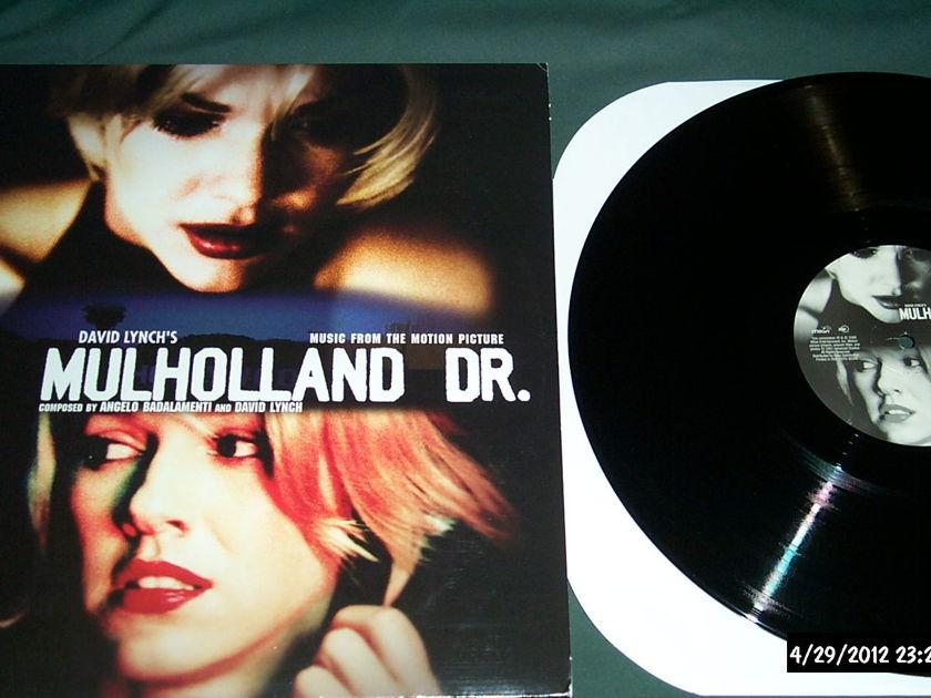 Soundtrack - Mulholland Dr. 2 lp set david lynch nm