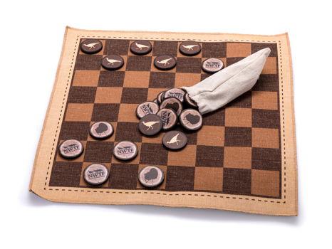 NWTF Checkers Set