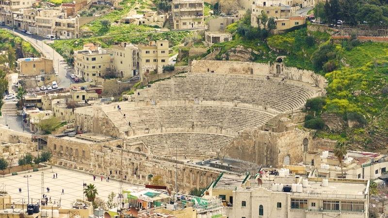 Roman Amphitheatre in Amman, Jordan