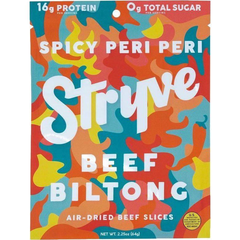 Stryve Beef Biltong Spicy Peri Peri