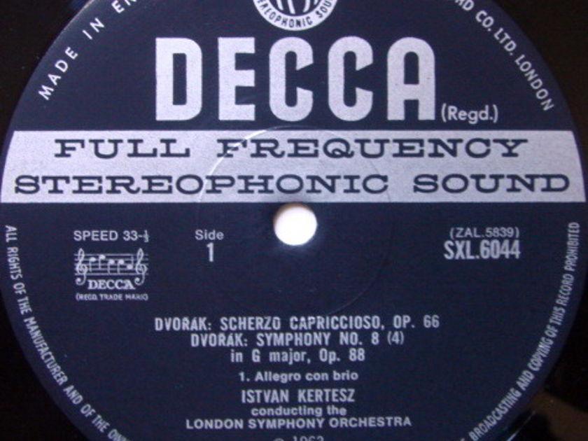 DECCA SXL-WB-ED3 / KERTESZ, - Dvorak Symphony No.8(4), NM!