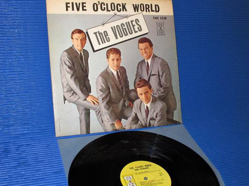 "THE VOGUES -  - ""Five O'Clock World"" - CO & CE 1965 mono very rare"