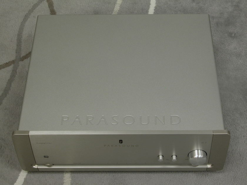 Parasound Halo JC-2 Preamplifier