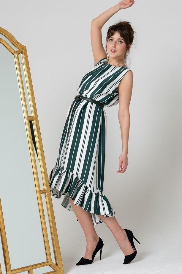 Платье с воланом арт. 1193010