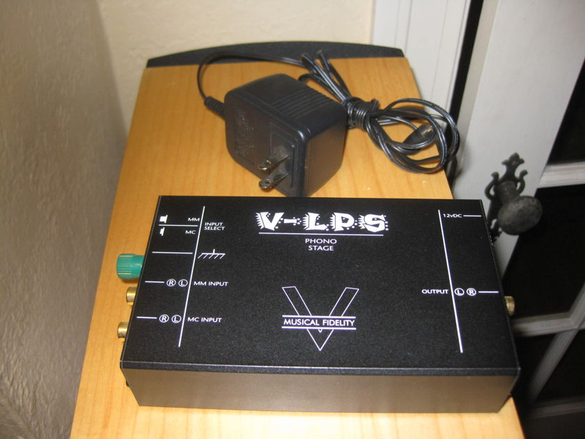 Musical Fidelity V-LPS Phono Stage Free Shipping