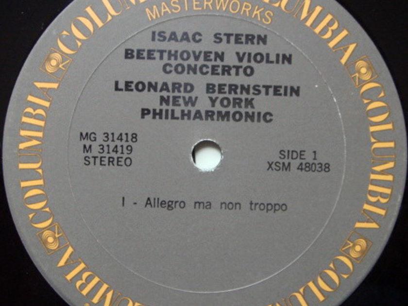 Columbia / STERN-BERNSTEIN-ORMANDY, - Beethoven-Brahms Violin Concertos, NM-, 2 LP Set!