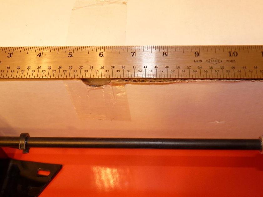 Graft / Micro Seiki  carbon fibre 13 inch tonearm Descadel wires in black