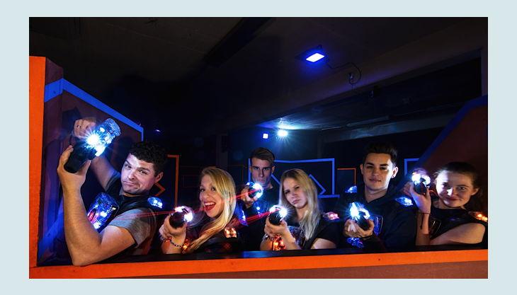 funfabrik lasertag posen