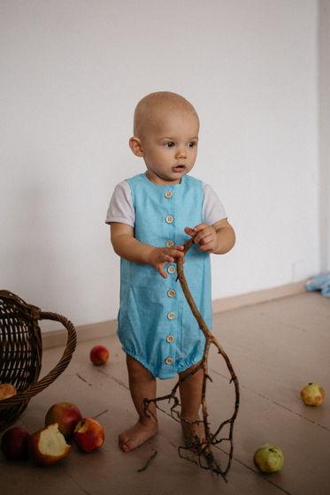 Хлопковый боди для малышей унисекс