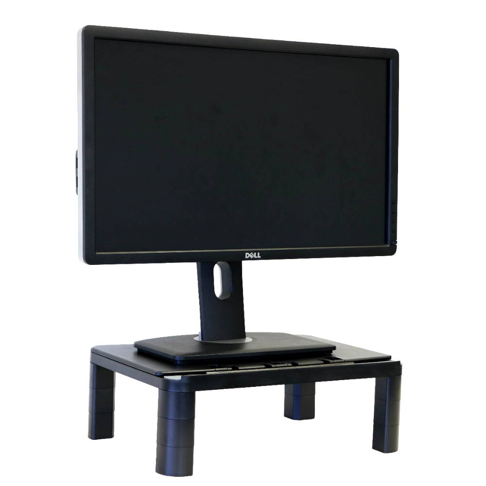 Computer laptop monitor risers