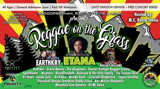 The 2nd Annual Reggae On The Grass Fr      Jul 20   Rootfire
