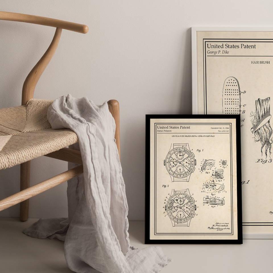 Affiche brevet personnalisée