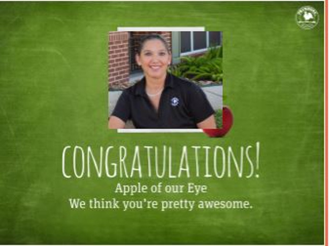 "The ""Apple of our Eye"" at Primrose School of Friendswood"