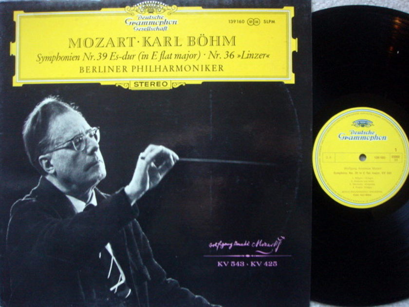 DGG / BOHM-BPO, - Mozart Symphonies No.36 & 39, MINT!