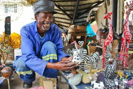 Visit the Biggest Market in Harare