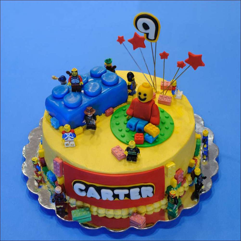 Outstanding Amazing Lego Cake Ideas Personalised Birthday Cards Paralily Jamesorg