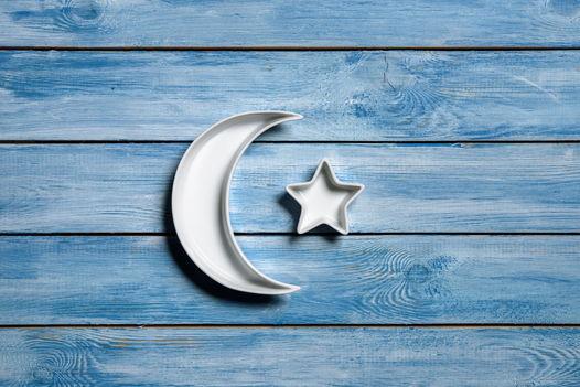 Неразлучные луна со звездочкой