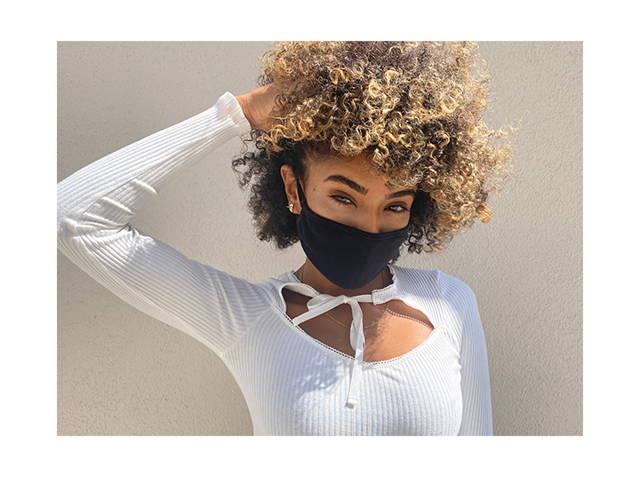 women wearing face mask