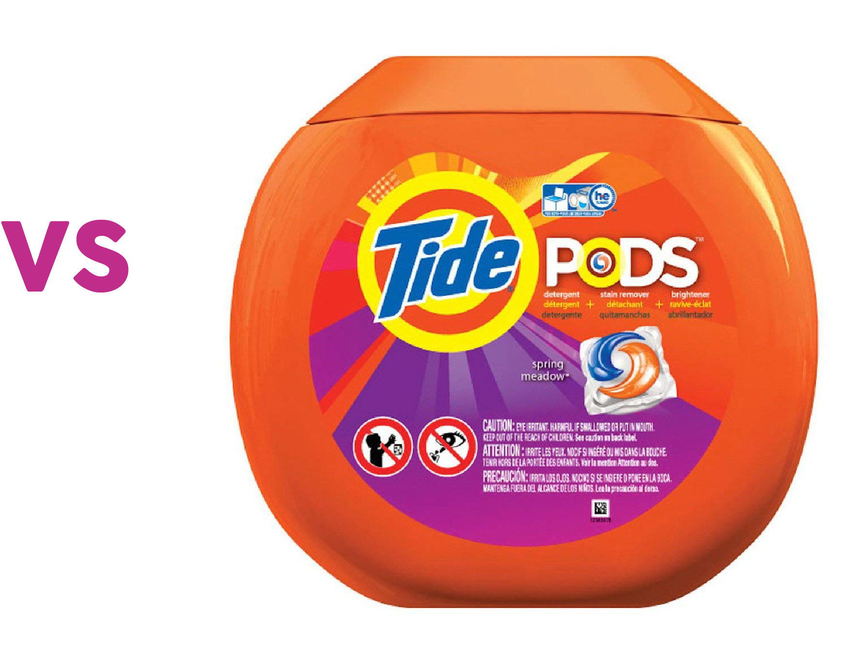 3 In 1 Tide Pod Package