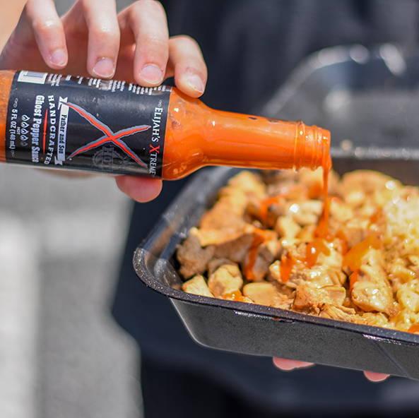 Elijah's Xtreme Ghost pepper sauce, best ghost pepper hot sauce, hot sauce, best hot sauce