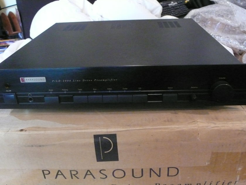 Parasound P/LD-2000 preamplifier designed by John Curl