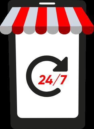 Adquiere tus herramientas 24/7 desde nuestra pagina web