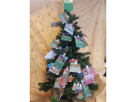 Scratch Ticket Tree