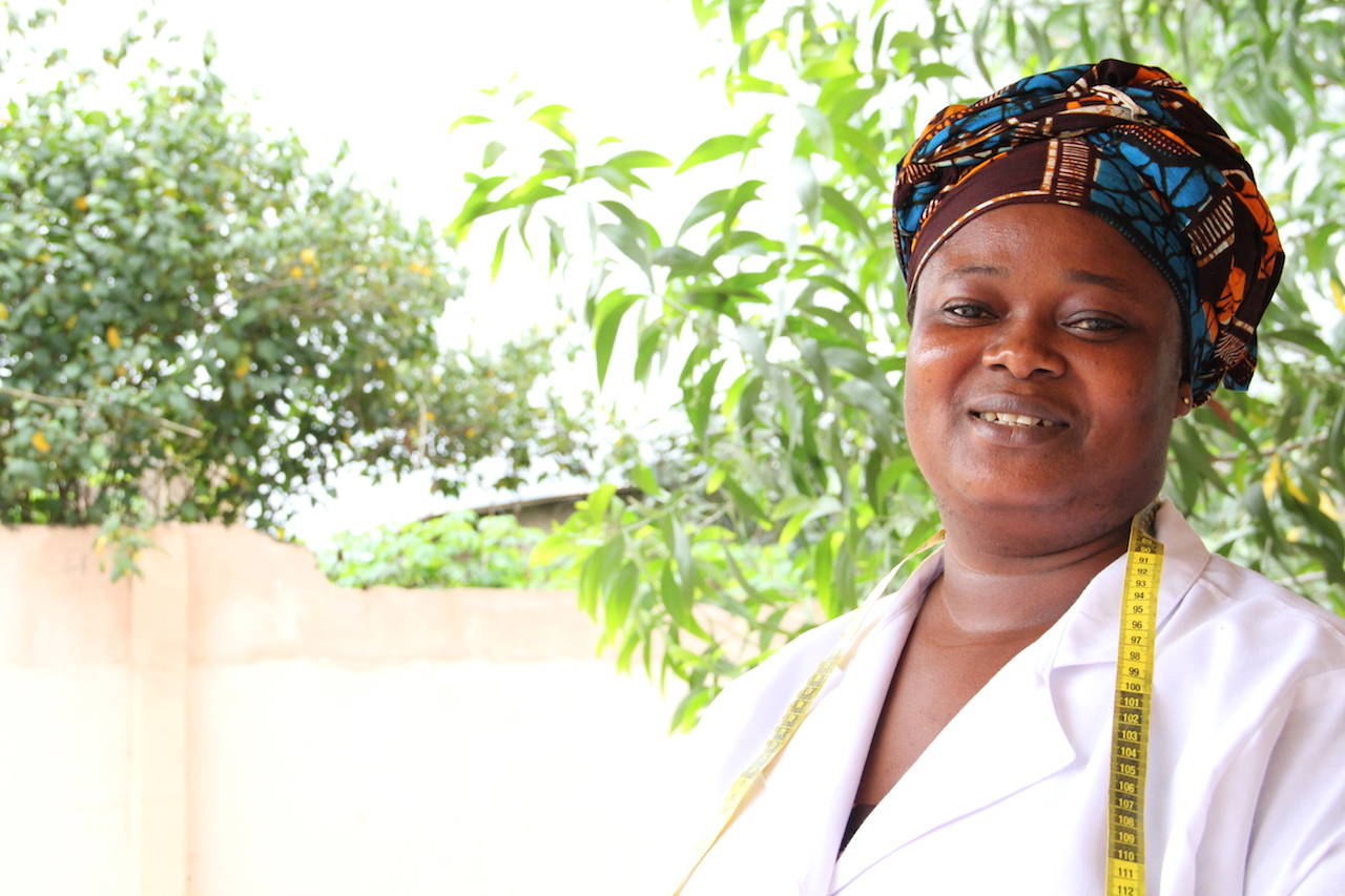 """I've gained a lot of financial freedom since I joined YEVU. As a single mother with three children, I am happy that my children are comfortable and that I am able to pay their school fees."""