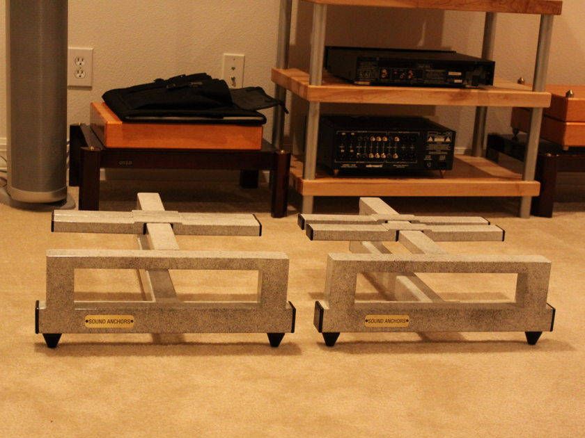 Sound Anchors stand for big amps or speaker