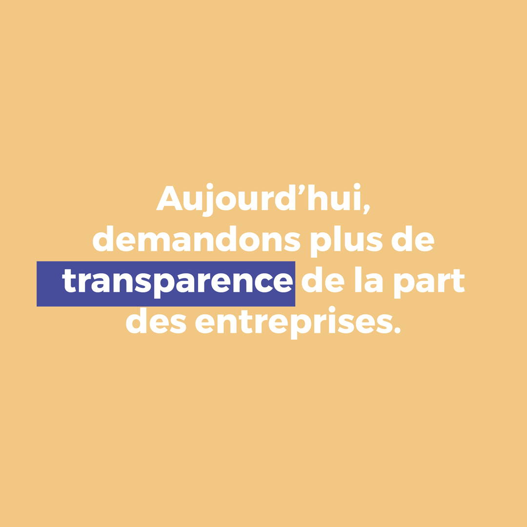 act for ethics, transparence