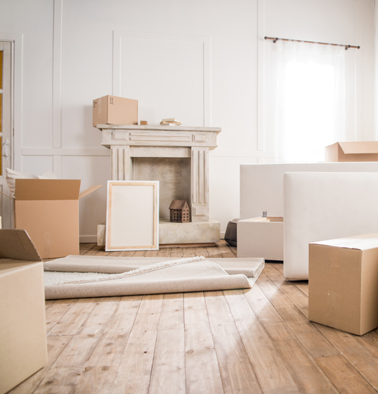 Bologna - How to go about moving to a smaller home: Sell your house, sell your furniture, give away what's useful and dispose of what's broken.