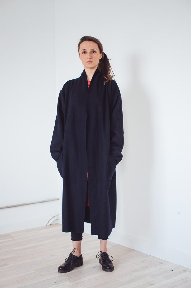 весеннее пальто - халат *космос классика*