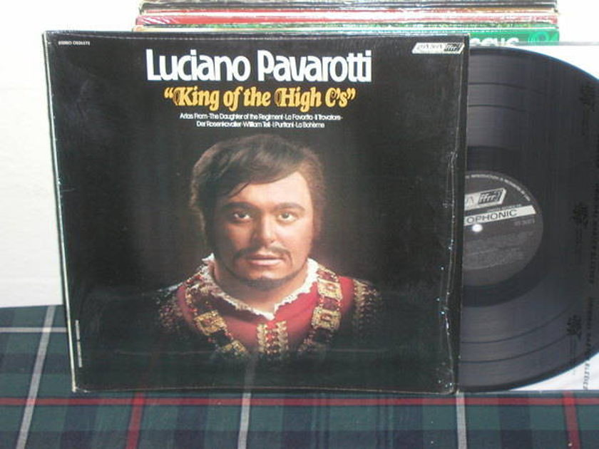 Pavarotti - King Of The High C's London narrowband os 26373