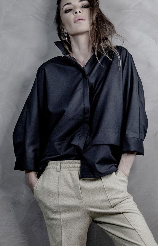 Черная сорочка Smart Casual