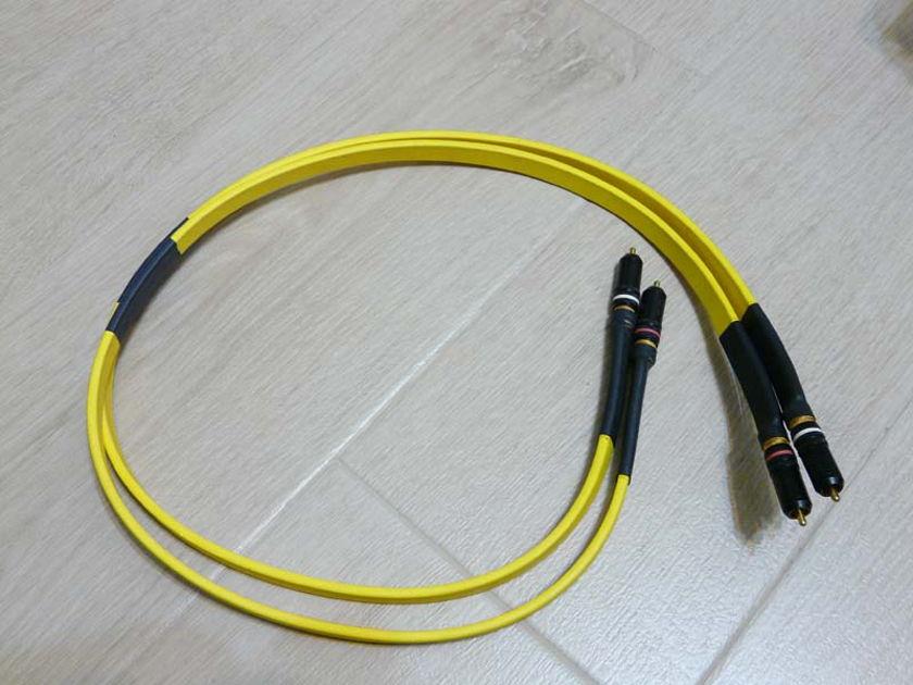 Audio Metallurgy GA-0 1m Pair WBT 0144