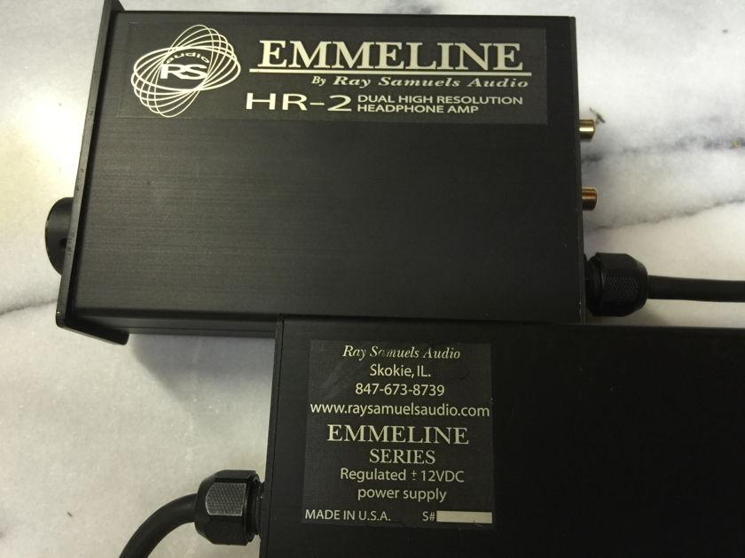 Emmeline II HR-2 Headphone Amplifier - NICE!
