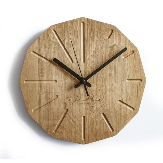 настенные часы из дуба Dode Oak