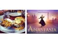Anastasia On Broadway PLUS Backstage Tour PLUS Dinner at 5 Napkin Burger