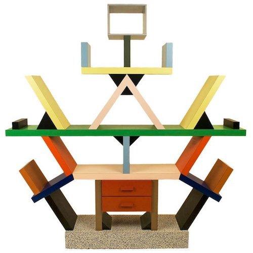 Ettore Sottsass Carlton Bookcase