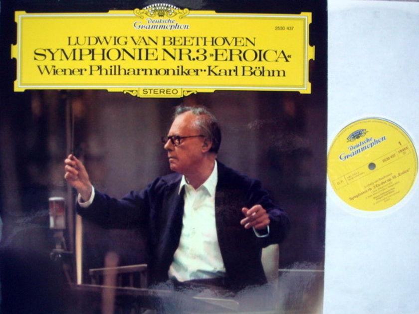 DG / Beethoven Symphony No.3 Eroica, - BOHM/VPO, MINT!