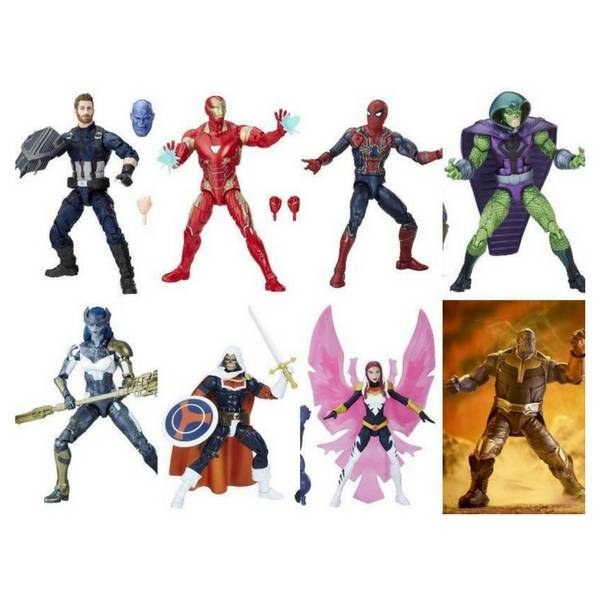 Avengers Infinity War: Marvel Legends: 7-Pack Thanos Baf By Hasbro free shipping across India