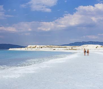 Турецкие Мальдивы (Озеро Салда) + невероятное Памуккале из Анталии
