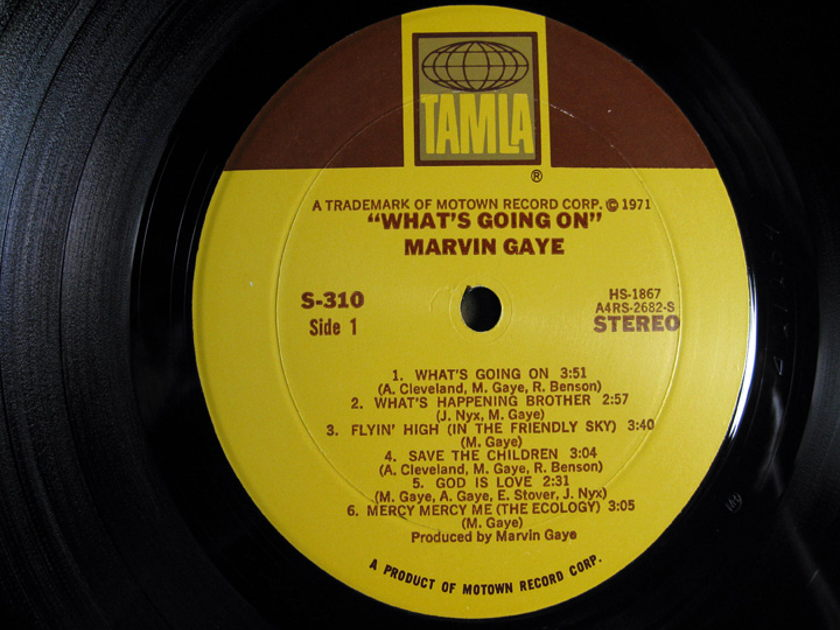 Marvin Gaye - What's Going On - 1971 Tamla T6-310S1 / S-310