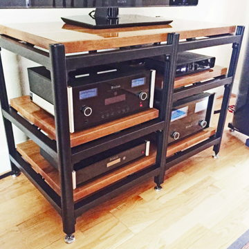 Beautiful Professional Grade Audio Rack,