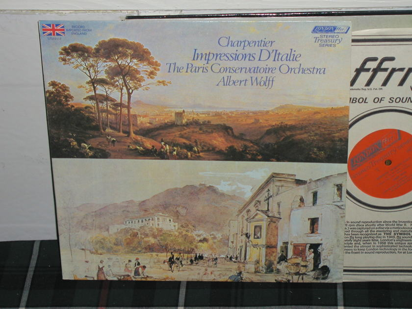 Wolff/PCO - Charpentier/Impressions LP London ffrr uk decca sts 15117
