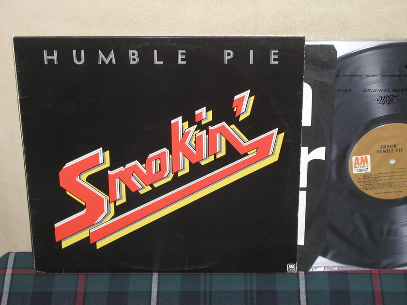 Humble Pie - Smokin' Tan label A&M SP-4342