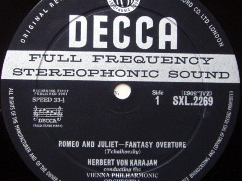 DECCA SXL-WB-ED1 / KARAJAN, - Tchaikovsky Romeo & Juliet-Fantasy Overture, NM!