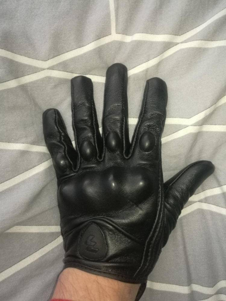 gants trottinette cuir adulte